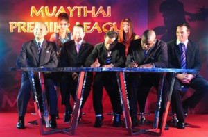 Muay Thai League -Signing